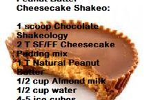 Food & drinks: shakeology