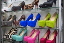 One Step at a Time / Shoes. Shoes. Lots and lots of it. / by Elaine Joyce Kochoa