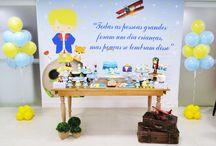 Festa de 1 ano. Tema O Pequeno Príncipe. One year Party. The Little Prince Party / Festa de 1 ano do Pequeno Enzo