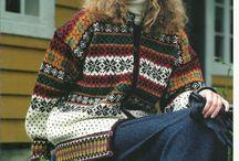 Knitting - Kofter Norwegian pattern