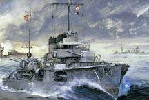 Naval Vessels Paintings