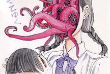 Shintaro Kago / Artista japonês. Gore.