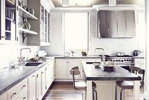Kitchen Ideas | Inspiration / Landelijke keukens, materialen en kleuren