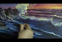 Oil painting / video's