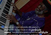 #endorsee João Fera / O tecladista dos Paralamas do Sucesso também é endorsee Casio!