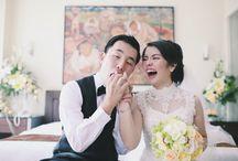 Patrik & Vine Wedding / #wedding #photography #fashion #whitewedding #green #cheongsambridal #bridal #dress