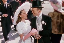 "Easter Parade (1948) /  Easter Parade is a 1948 American musical film starring Judy Garland, Fred Astaire and Peter Lawford, featuring music by Irving Berlin, including some of Astaire and Garland's best-known songs, such as ""Easter Parade"", ""Steppin' Out with My Baby"", and ""We're a Couple of Swells""."