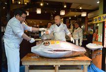 Noworoczna aukcja tuńczyka w Japonii Tokio 2017 / http://maguro.pl/26-mln-zlotych-tunczyka-noworocznej-aukcji-tokio/