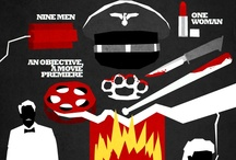 Quentin Tarantino quadros dos filmes.