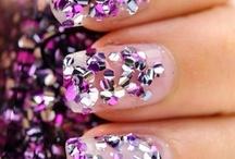 Glitter nails inspirations