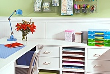 Craft room ideas / by Krista Lahner