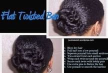 Natural Hair Don't Care / Transitioning and natural hairstyles and tips / by Chasmyn Lindeman