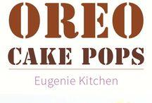 Oreo cake pop