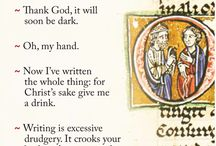 Manuscript oddities