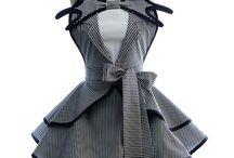 zástěrky - šaty