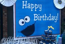 Party Theme - Cookie Monster