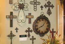 crosses and skulls