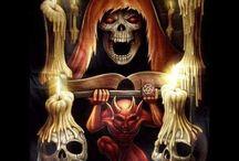 Skulls and crazy shit