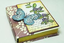 Post it & Stampin' Up!
