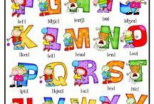 English: Voca Alphabet