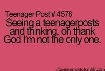 Teenager posts / by Demi Hoogvliet
