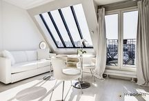 Top white rooms in Paris / Pure as the driven snow. White rooms, sure to refresh!  A sampling of rooms decorated in pale perfection.