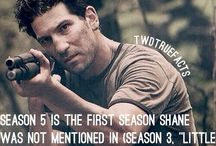 Shane awash and Jon Bernthal