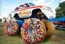 Donut sprinckl monster track