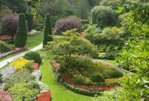 Gardens: famous public gardens