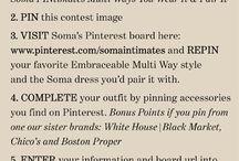 Soma PINtimates: Multi Ways You Wear It & Pair It / by Elizabeth Hebert