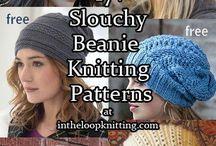 knitting slouchy beanie