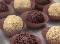 Truffles chocolates