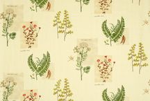 Botanical Wallpaper/Fabric