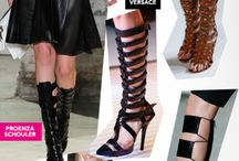 Shoe Trends We Love / Some trends we like in the modern world of shoes...