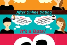 Online Dating infographics- Freakin-out.com / Stayed tuned with Freakin-Out Infographics and enjoy dating tips, trends and stories / by Freakin out