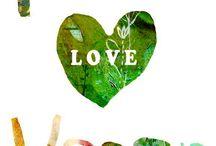 Peace - Love - Vegan