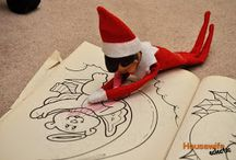 Elf on shelf / by Brenda Ilschner