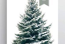 Christmas Posters by DesignJungle.nl / Dit is waar het mee begon! Zo trots! Wat zijn onze kerstboomposter een succes geworden! We hebben ze wereldwijd mogen verkopen! Hoe te gek is dat? // This is where DJ started! So proud! Our Christmas tree poster is such a success! We sell them all over the world! How crazy is that?