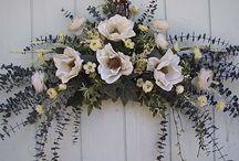 floral hangings
