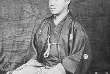"""SAMURAI  of  Feudal lord / 大名  藩主     The daimyō (大名, About this sound pronunciation ) were powerful Japanese feudal lords . who, until their decline in the early Meiji period, ruled most of Japan from their vast, hereditary land holdings. In the term, dai (大) means """"large"""", and myō stands for myōden (名田), meaning private land.  Subordinate only to the Shogun, daimyōs were the most powerful feudal rulers from the 10th century to the middle 19th century in Japan. From the shugo of the Muromachi periodthrough the Sengoku to the daimyōs of the Edo period, the rank had a long and varied history."""