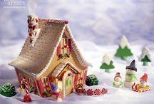 Gingerbread House - Μπισκοτόσπιτα με Τζίντζερ / Τα μπισκοτόσπιτα ή καλύτερα Gingerbread Houses είναι μια πολύ όμορφη Χριστουγεννιάτικη συνήθεια σε πολλές χώρες του κόσμου