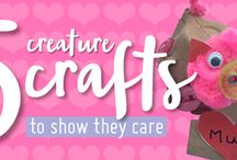 Animal crafts!