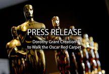 Dorothy Grant Creation on the Oscar 2016