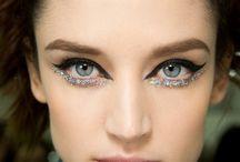 gliter makeup