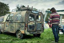 Old rusted 2cv azu my car