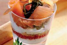 FOOD IN GLASSES ♥