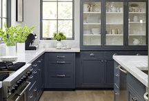 Kitchens / Modern and Scandinavian kitchens that make you want to gather. / by Karisa | Petite Modern Life