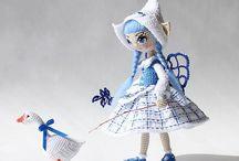 Wonderful amigurumi dolls