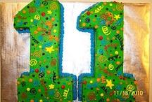 Number Eleven Cake Designs