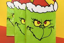 Party / Playdate themed ideas - Grinch Christmas Party